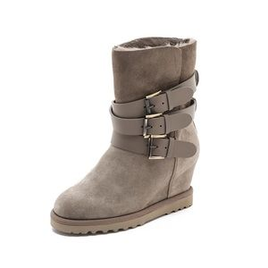 Ash Buckle Boots